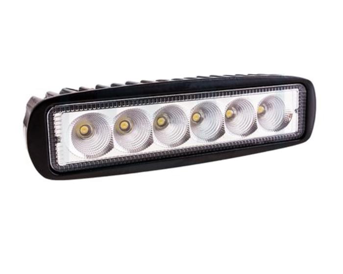 Lampa Robocza panel prostokątna 6 LED 1250 Lm światło rozproszone