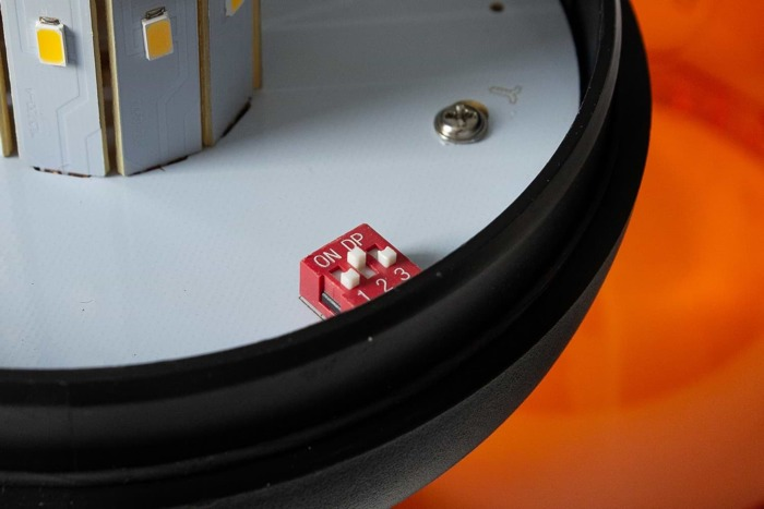 Lampa błyskowa ostrzegawcza SMD LED kogut 186D