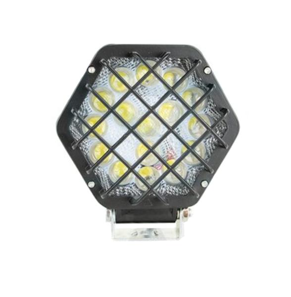 Lampa robocza z metalową osłoną 16 LED 48W