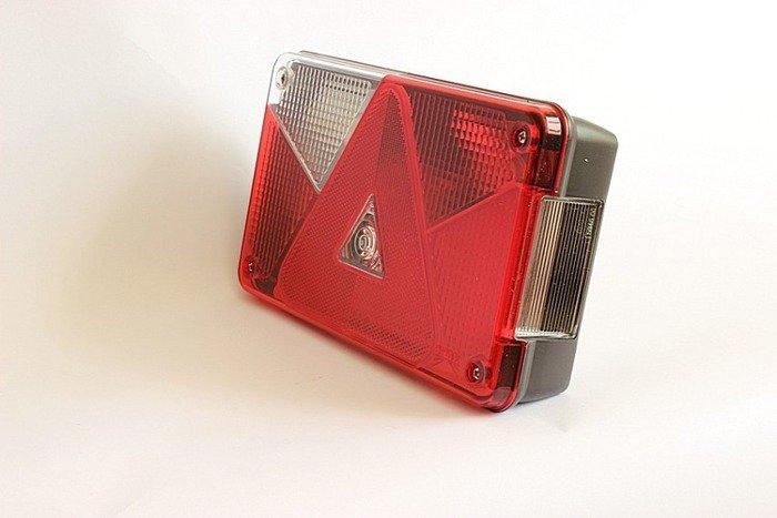 Lampa tylna zespolona do przyczep Aspöck Multipoint V lewa